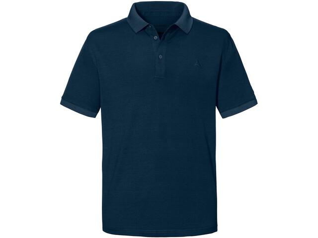 Schöffel Brisbane Polo Shirt Men, moonlit ocean